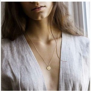 Jewelry - NEW Gold Initial Necklace monogram jewelry gift